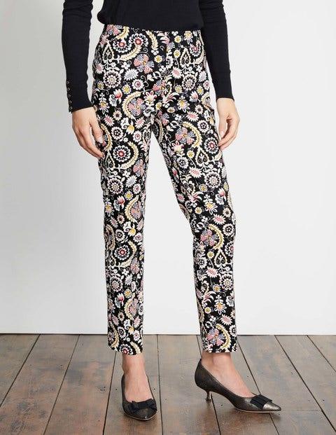 1960 – 1970s Pants, Flares, Bell Bottoms for Women Richmond 78 Trousers Black Arabesque Women Boden Black Arabesque £65.00 AT vintagedancer.com