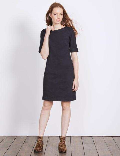 Freya Denim Dress Black Denim Women Boden