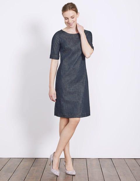Freya Denim Dress - Indigo