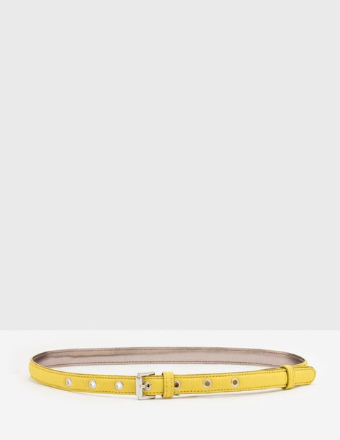 Skinny Belt Mimosa Yellow Women Boden, Mimosa Yellow