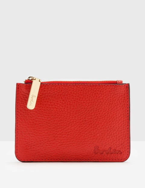 Leather Coin Purse Snapdragon Women Boden