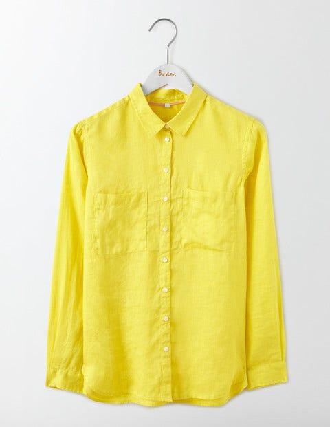 The Linen Shirt Pineapple Women Boden