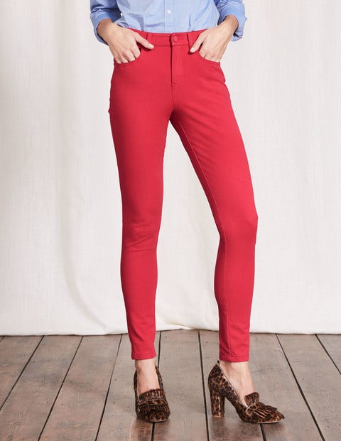 Mayfair Bi-Stretch Jeans Camellia Pink Women Boden