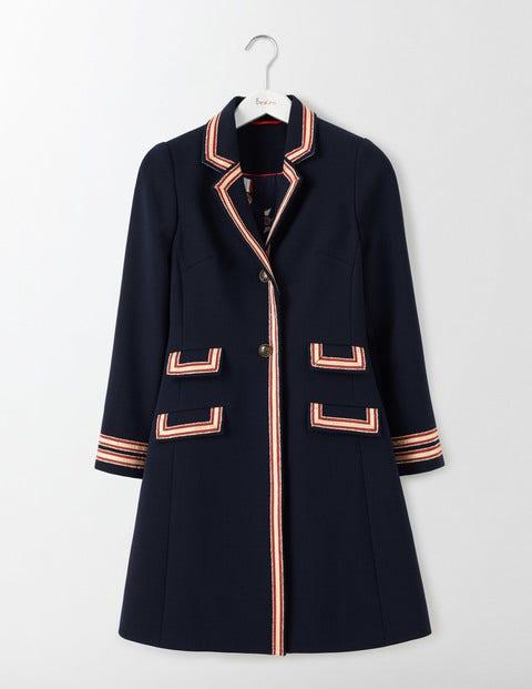 Ella Military Coat Navy Women Boden