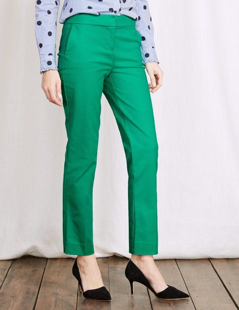 Retro Pants & Jeans Richmond 78 Trousers Meadow Green Women Boden Meadow Green £58.50 AT vintagedancer.com