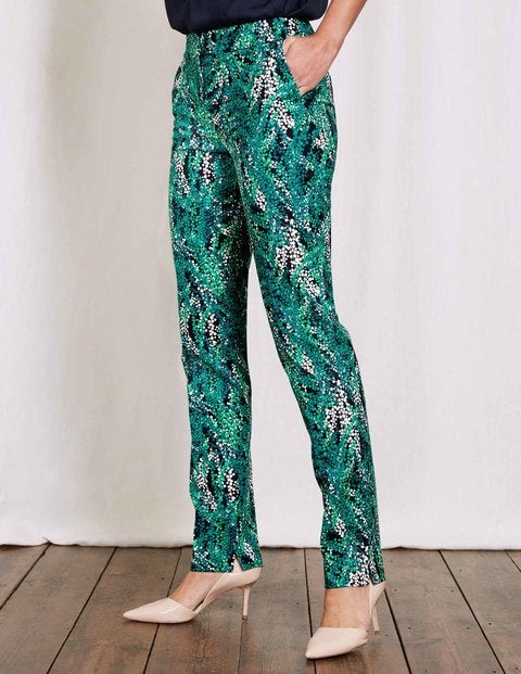 1960 – 1970s Pants, Flares, Bell Bottoms for Women Richmond Trousers Drake Large Wisteria Women Boden Drake Large Wisteria £22.50 AT vintagedancer.com
