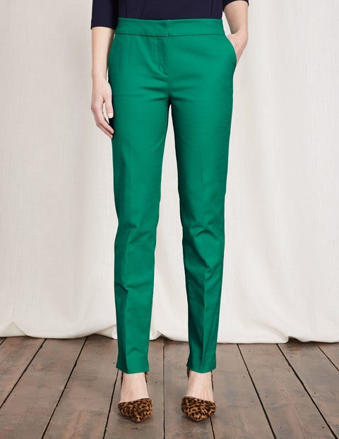 Retro Pants & Jeans Richmond Trousers Meadow Green Women Boden Meadow Green £67.50 AT vintagedancer.com
