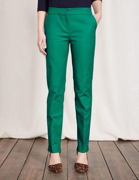 Women's 1960s Style Pants Richmond Trousers Meadow Green Women Boden Meadow Green £37.50 AT vintagedancer.com