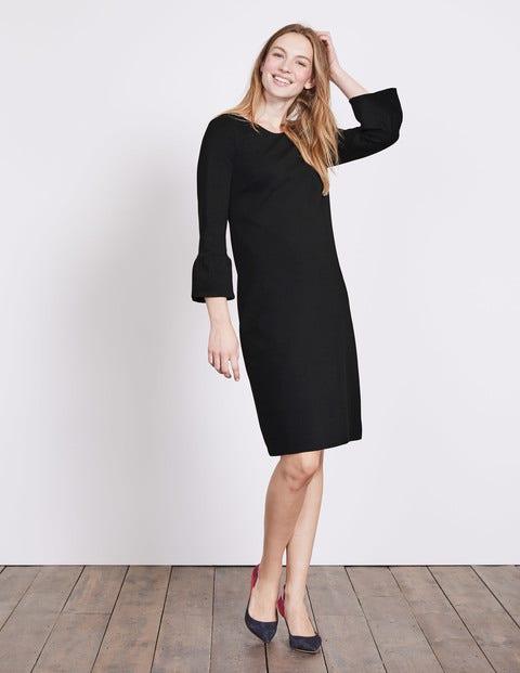 Lavinia Ponte Dress - Black