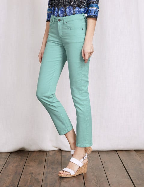 Cambridge Ankle Skimmer Jeans Tropical Blue Women Boden