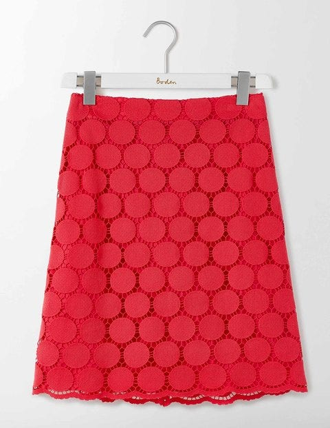 Arabella Lace Skirt Camellia Women Boden