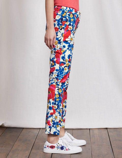 Women's 1960s Style Pants Richmond 78 Trousers Multi Floral Women Boden Multi Floral £19.50 AT vintagedancer.com