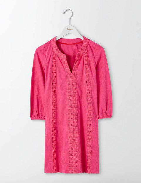 Product photo of Xanthe jersey kaftan mid pink women boden mid pink