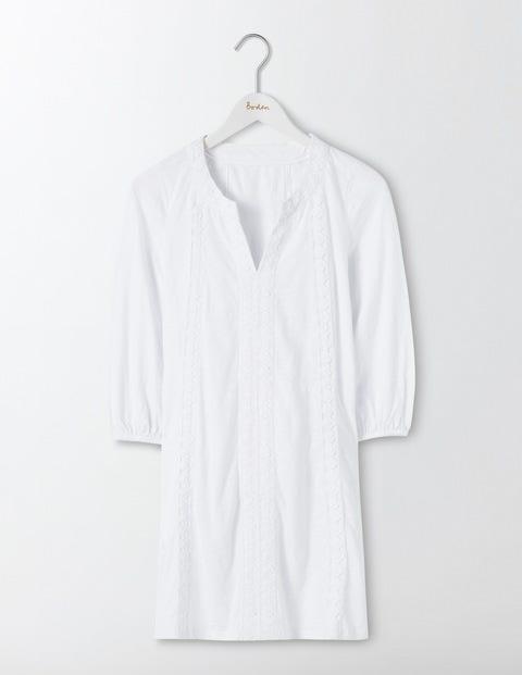 Product photo of Xanthe jersey kaftan white women boden white