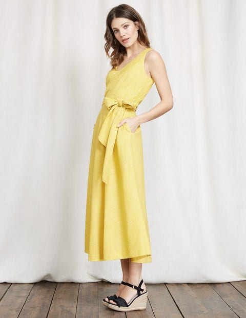 Riviera Dress - Mimosa Yellow