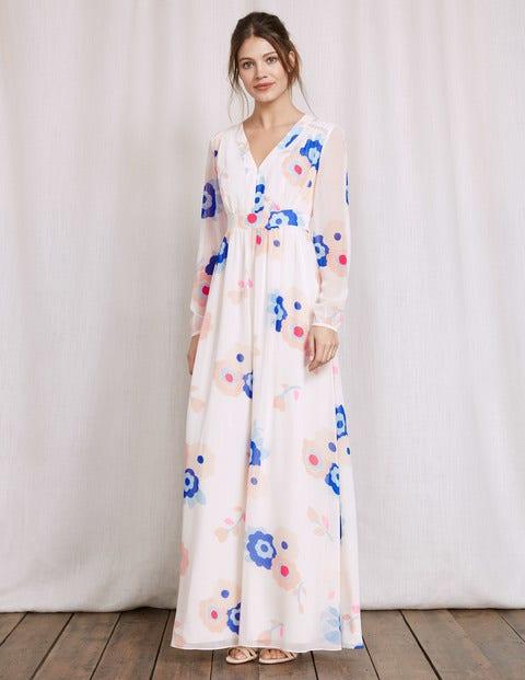 Helene Dress Ivory Women Boden Ivory
