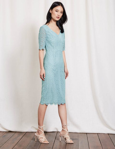 Carin lace dress mineral blue women boden mineral blue for Boden london mode