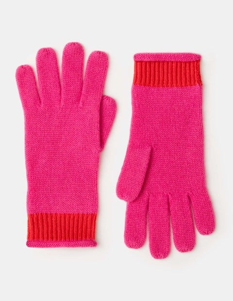 Cashmere Gloves Party Pink Women Boden