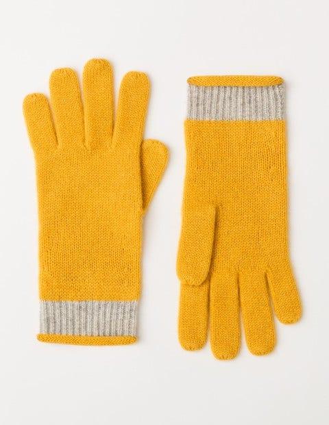 Cashmere Gloves Saffron Women Boden