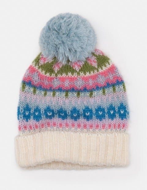 Fair Isle Hat A0135 Hats, Scarves & Gloves at Boden