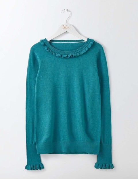 Bernadette Sweater Ocean Ripple Women Boden