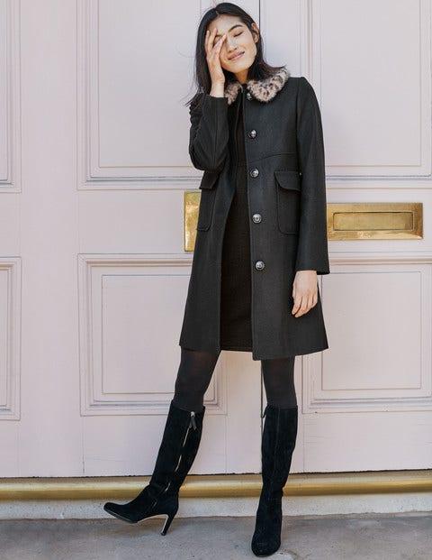 Claudette Coat - Black