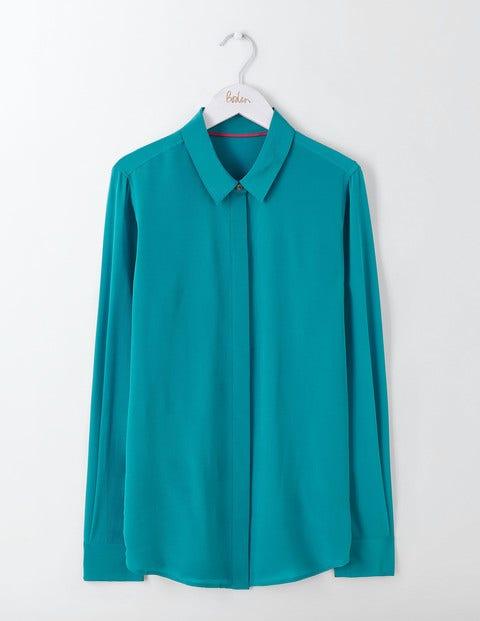 The Silk Shirt Ocean Ripple Women Boden