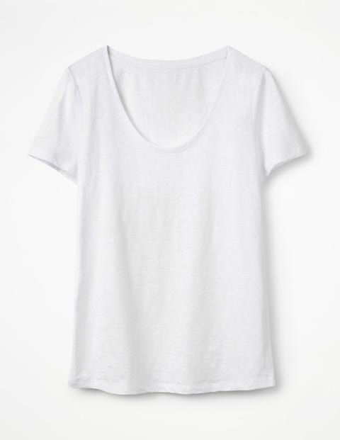 The Cotton Voop Tee - White