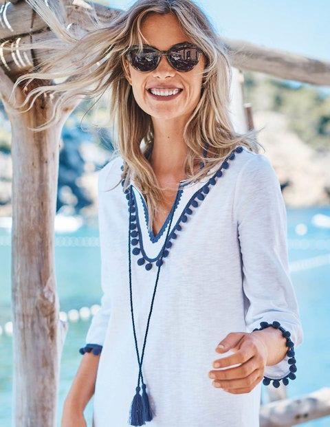 Kasia Jersey Tunic - White