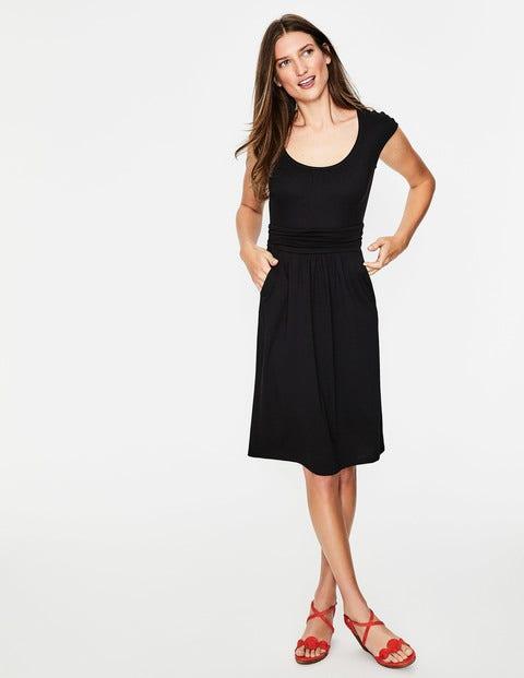 Margot Jersey Dress - Black