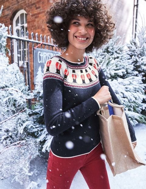 Christmas Fair Isle Sweater K0064 Knitted Sweaters at Boden