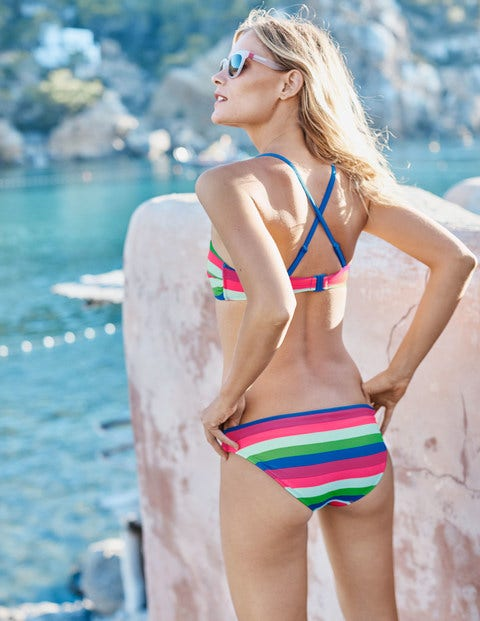 Mix & Match Bikini Bottoms - Multi Stripe