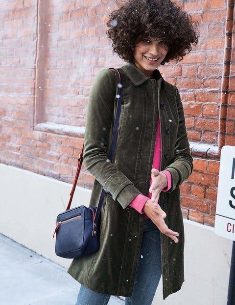 Keswick Velvet Coat - Graphite