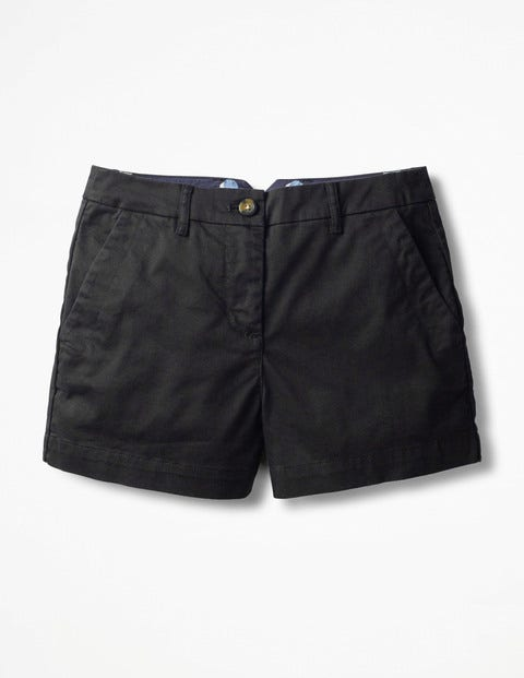 Rachel Chino Shorts - Black