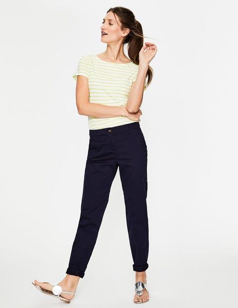 Rachel Chino Pants - Navy