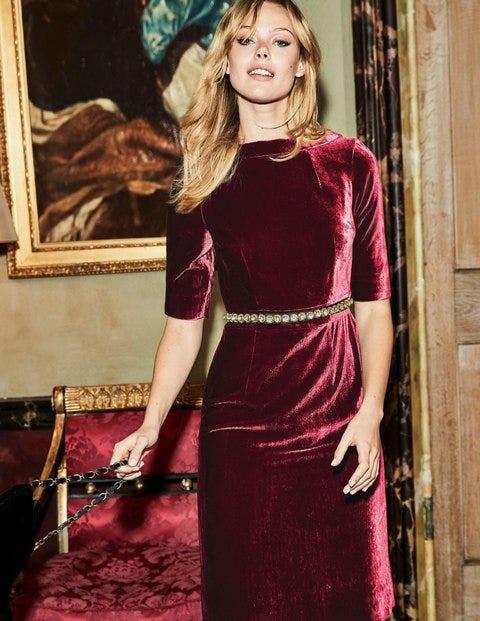 Velvet Martha Dress Ww180 Special Occasion Dresses At Boden