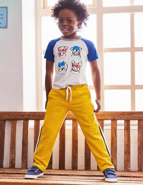 Sporty Sweatpants - Soft Lime Yellow