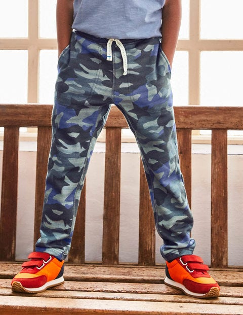 Slouch Sweatpants - Raft Grey Camo Star