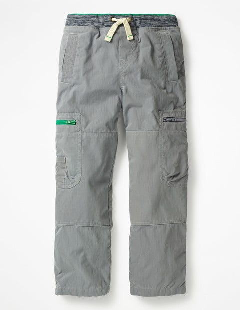 Lined Pull-On Cargos - Raft Grey