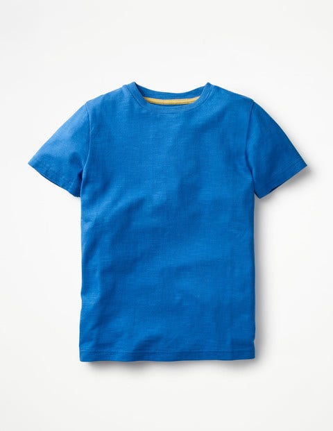 Slub Washed T-Shirt - Skipper Blue