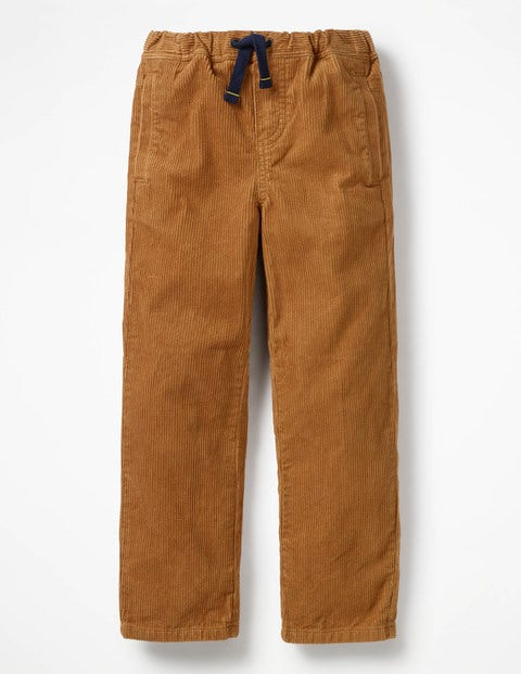 39c886f36b09 Cord Pull-On Trousers - Rustic Brown | Boden AU