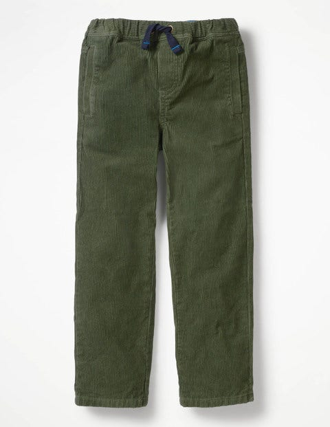 a18ace1a524a Cord Pull-On Pants - Cucumber Green | Boden US