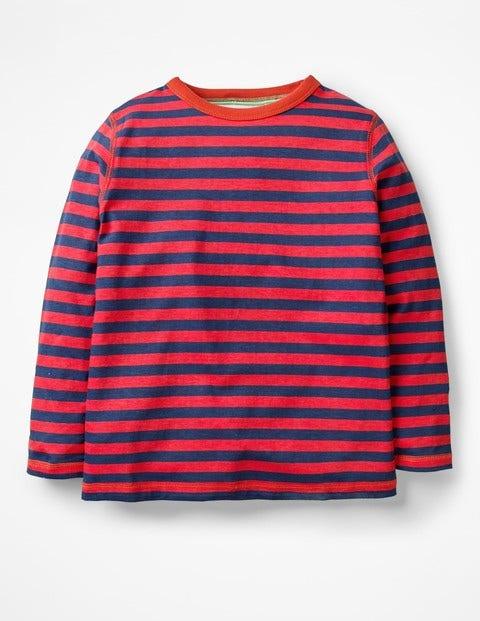 Supersoft T-Shirt - Salsa Red/School Navy