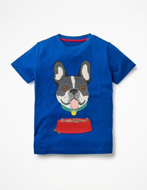 Novelty Pet T-Shirt - Orion Blue Dog