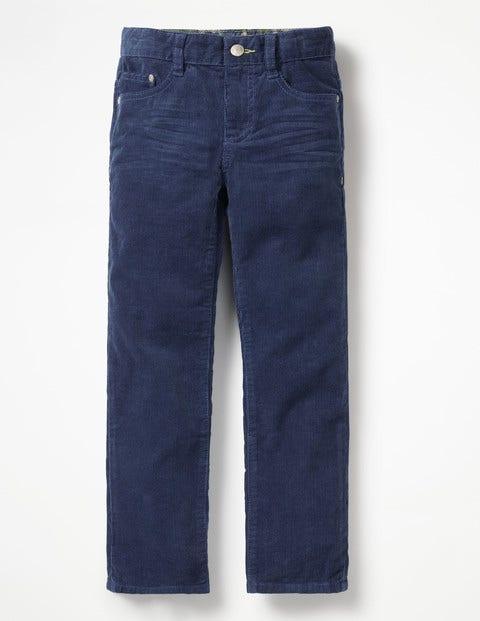 Slim Cord Jeans - Richie Blue