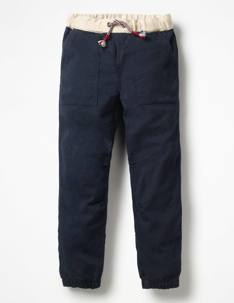 Pull-On Utility Trousers - Midnight Blue