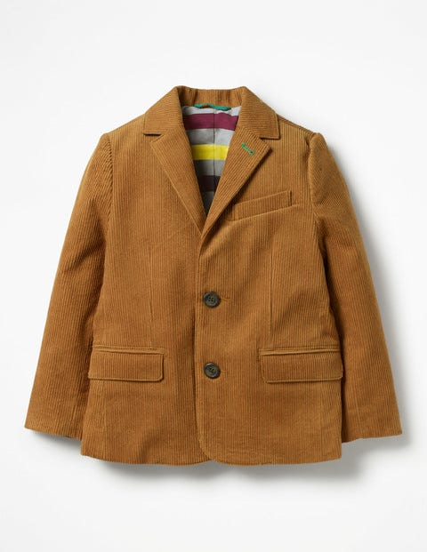 Cord Blazer - Rustic Brown