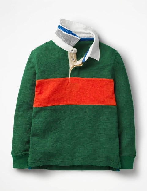 Rugby Shirt - Scots Pine Green