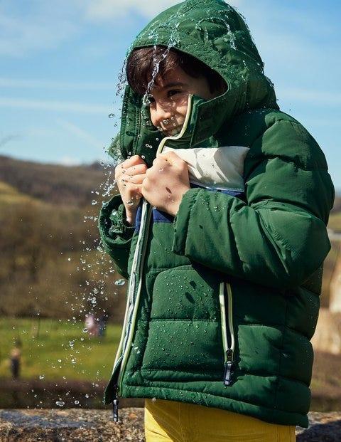Padded Jacket - Shamrock Green