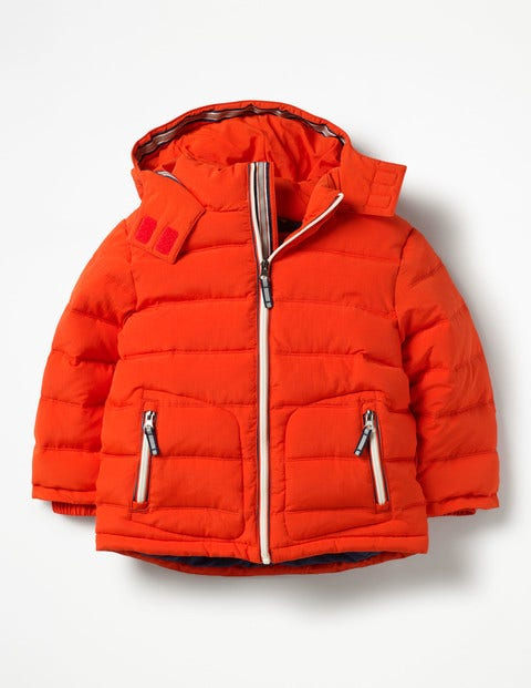 Mini Jacke mit Wattierung Orange Jungen Boden, Orange orange |